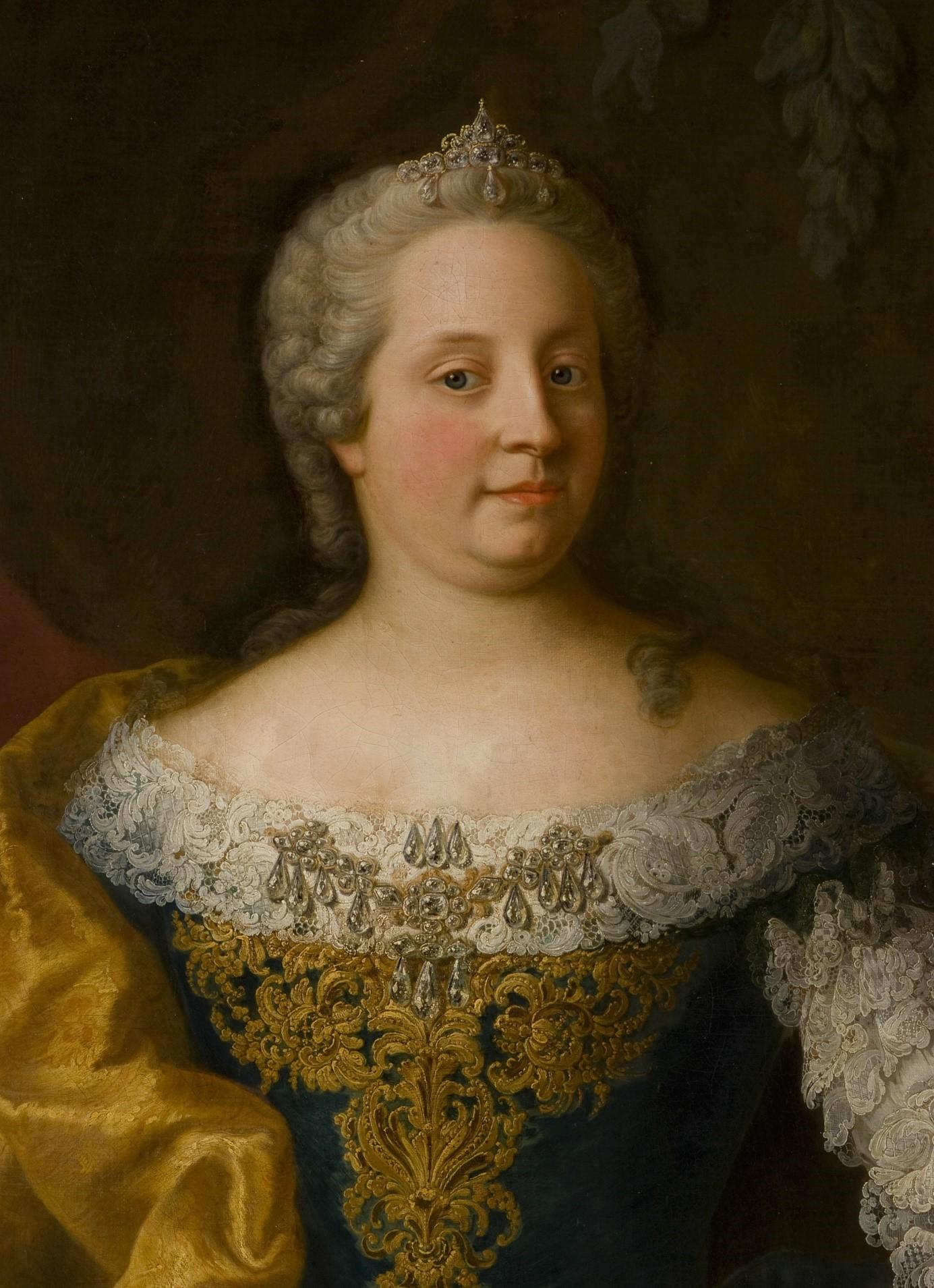 Portrait de Marie-Thérèse d\'Autriche – Patrimoine artistique – Les ...
