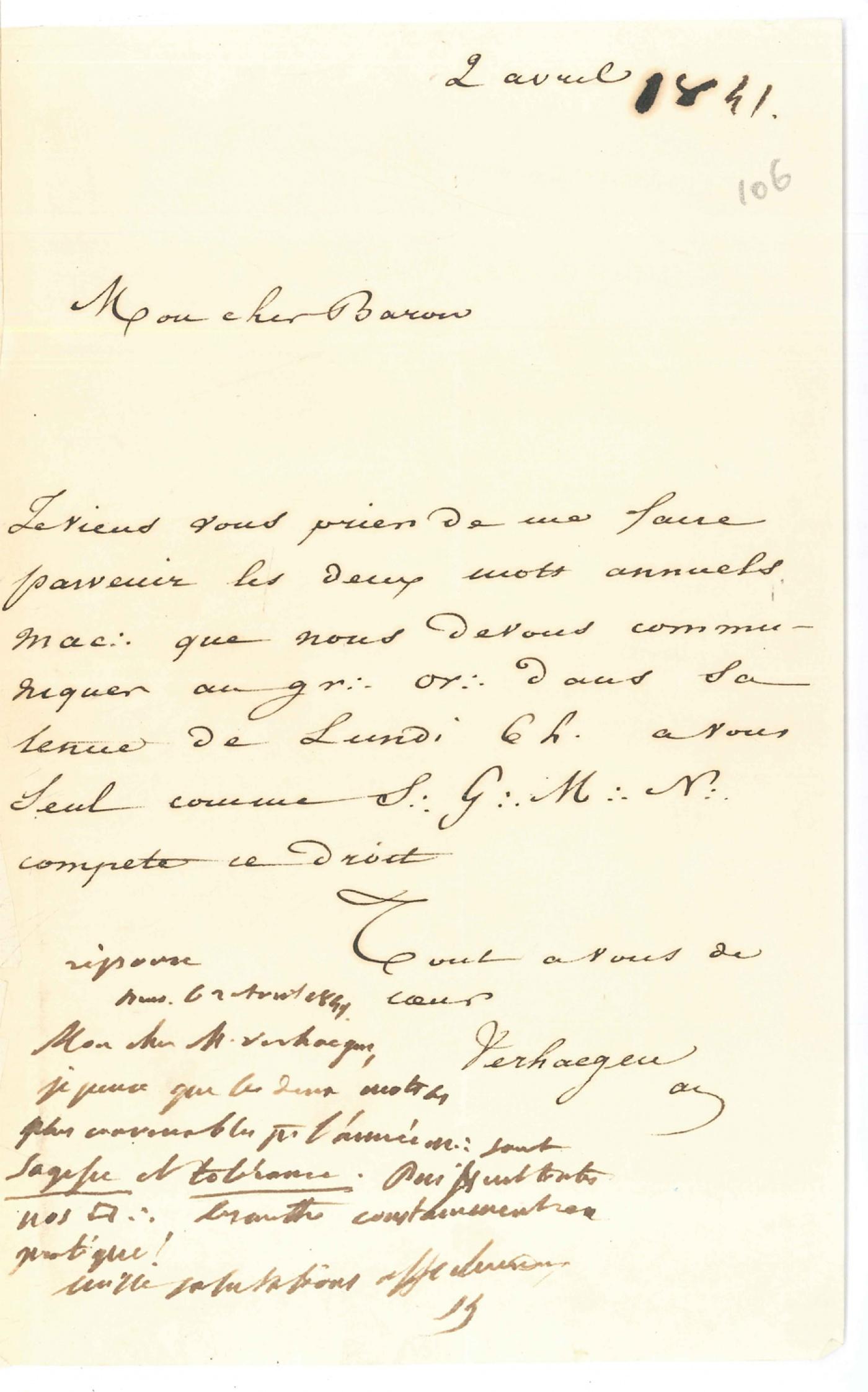 lettre exemples  formule de politesse franc ma u00e7onnerie
